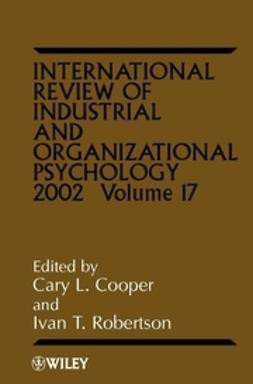 Robertson, Ivan T. - International Review of Industrial and Organizational Psychology, 2002, ebook