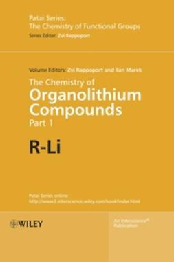 Marek, Ilan - The Chemistry of Organolithium Compounds, The Chemistry of Organolithium Compounds, ebook