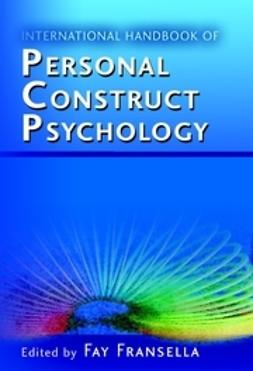 Fransella, Fay - International Handbook of Personal Construct Psychology, ebook