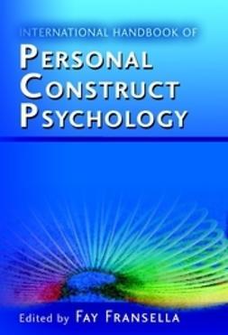 Fransella, Fay - International Handbook of Personal Construct Psychology, ebook