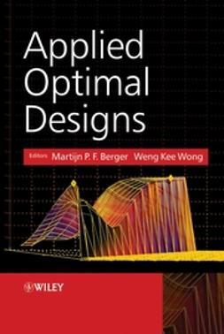 Berger, Martijn P.F. - Applied Optimal Designs, e-bok