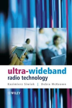 McKeown, Debra - Ultra-wideband Radio Technology, ebook