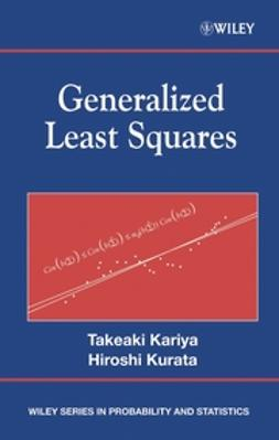 Kariya, Takeaki - Generalized Least Squares, ebook