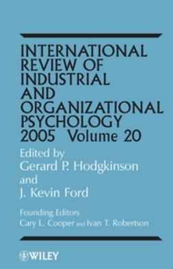 Ford, J. Kevin - International Review of Industrial and Organizational Psychology, 2005, ebook