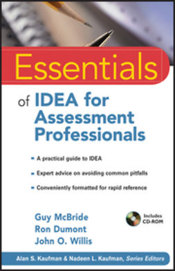 McBride, Guy - Essentials of IDEA for Assessment Professionals, ebook