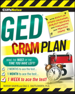 Shukyn, Murray - CliffsNotes GED Cram Plan, ebook