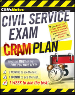 UNKNOWN - CliffsNotes Civil Service Exam Cram Plan, ebook