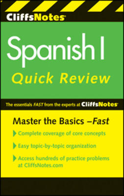Rodriguez, Jill - CliffsNotes Spanish I QuickReview, ebook