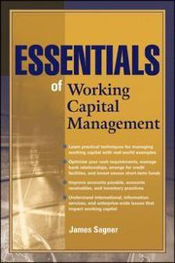 Sagner, James - Essentials of Working Capital Management, ebook