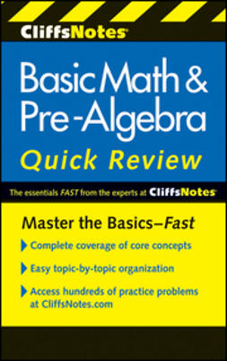 Bobrow, Jerry - CliffsNotes Basic Math and Pre-Algebra Quick Review, ebook