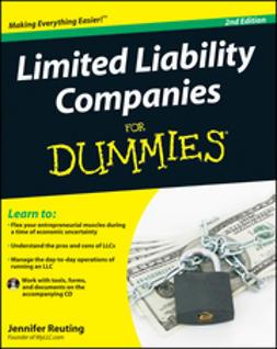 Reuting, Jennifer - Limited Liability Companies For Dummies, e-bok