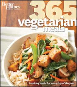 UNKNOWN - Better Homes & Gardens 365 Vegetarian Meals, e-bok