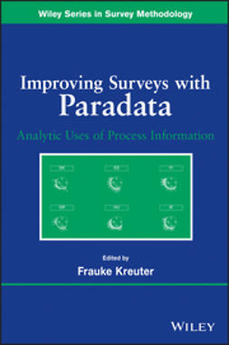 Kreuter, Frauke - Improving Surveys with Paradata: Analytic Uses of Process Information, ebook