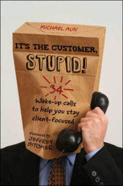 Aun, Michael A - It's the Customer, Stupid!: 34 Wake-up Calls to Help You Stay Client-Focused, e-kirja