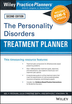 Bockian, Neil R. - The Personality Disorders Treatment Planner: Includes DSM-5 Updates, ebook