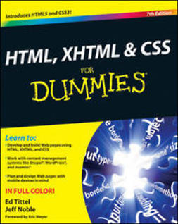 Noble, Jeff - HTML, XHTML and CSS For Dummies, ebook