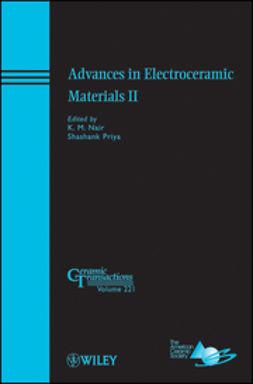Nair, K. M. - Advances in Electroceramic Materials II: Ceramic Transactions, e-kirja