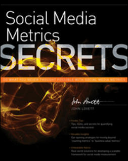 Lovett, John - Social Media Metrics Secrets, ebook