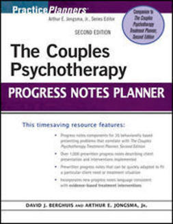 Berghuis, David J. - The Couples Psychotherapy Progress Notes Planner, ebook