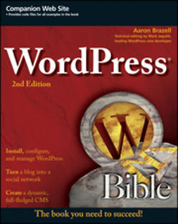 Brazell, Aaron - WordPress Bible, e-bok