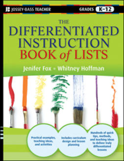 Fox, Jenifer - The Differentiated Instruction Book of Lists, e-kirja