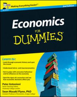 Antonioni, Peter - Economics For Dummies, e-bok