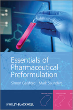 Gaisford, Simon - Essentials of Pharmaceutical Preformulation, e-bok