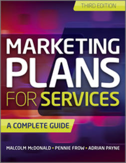 Payne, Adrian - Marketing Plans for Services: A Complete Guide, ebook