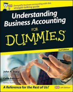 Barrow, Colin - Understanding Business Accounting For Dummies<sup>&#174;</sup>, ebook