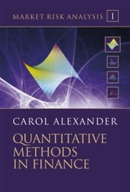 Alexander, Carol - Market Risk Analysis: Quantitative Methods in Finance, ebook