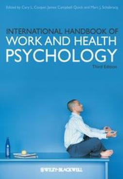 Cooper, Cary L. - International Handbook of Work and Health Psychology, ebook