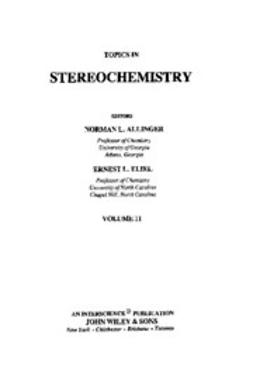 Allinger, Norman L. - Topics in Stereochemistry, e-kirja