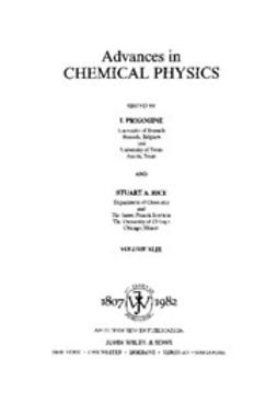 Prigogine, I. - Advances in Chemical Physics, e-bok