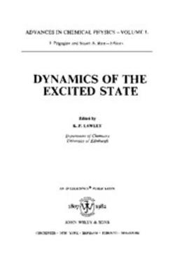 Lawley, K. P. - Advances in Chemical Physics, Dynamics of the Excited State, ebook