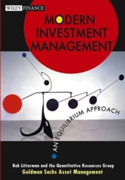 Litterman, Bob - Modern Investment Management: An Equilibrium Approach, ebook