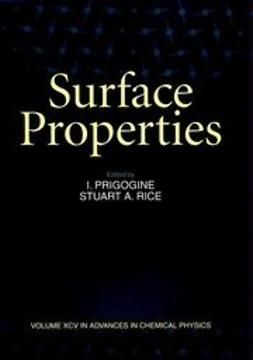 Prigogine, I. - Advances in Chemical Physics, Surface Properties, ebook