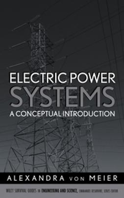 Meier, Alexandra von - Electric Power Systems: A Conceptual Introduction, e-kirja