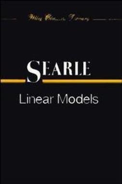Searle, Shayle R. - Linear Models, e-bok