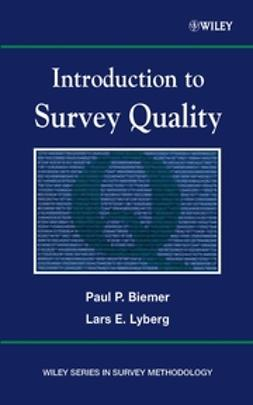 Biemer, Paul P. - Introduction to Survey Quality, ebook