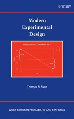 Ryan, Thomas P. - Modern Experimental Design, ebook