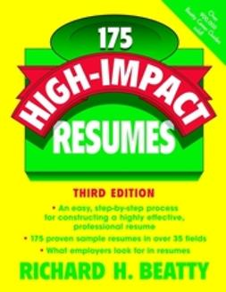 Beatty, Richard H. - 175 High-Impact Resumes, ebook