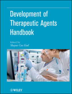 Gad, Shayne Cox - Development of Therapeutic Agents Handbook, e-kirja