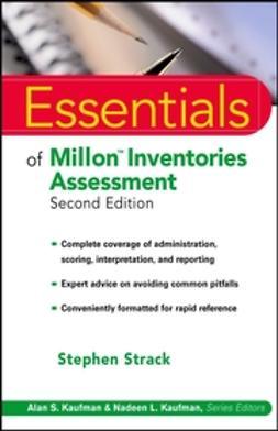 Strack, Stephen - Essentials of Millon Inventories Assessment, e-bok