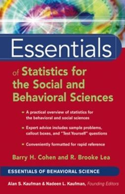 Cohen, Barry H. - Essentials of Statistics for the Social and Behavioral Sciences, ebook