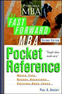 Argenti, Paul A. - The Fast Forward MBA Pocket Reference, e-bok