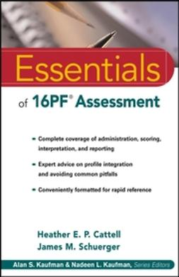 Cattell, Heather E. P. - Essentials of 16PF Assessment, ebook