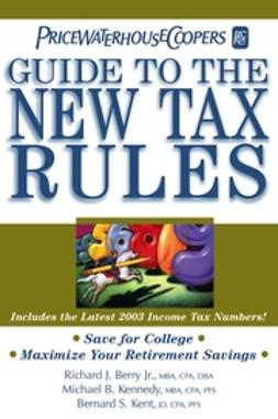 UNKNOWN - PricewaterhouseCoopers' Guide to the New Tax Rules, ebook