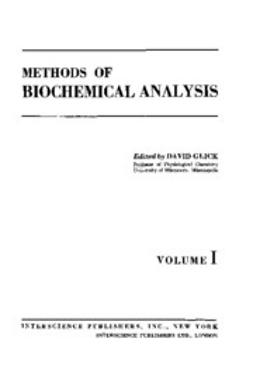 Glick, D. - Methods of Biochemical Analysis, e-bok