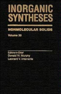 Murphy, Donald W. - Inorganic Syntheses, Nonmolecular Solids, ebook