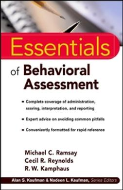 Kamphaus, R. W. - Essentials of Behavioral Assessment, ebook